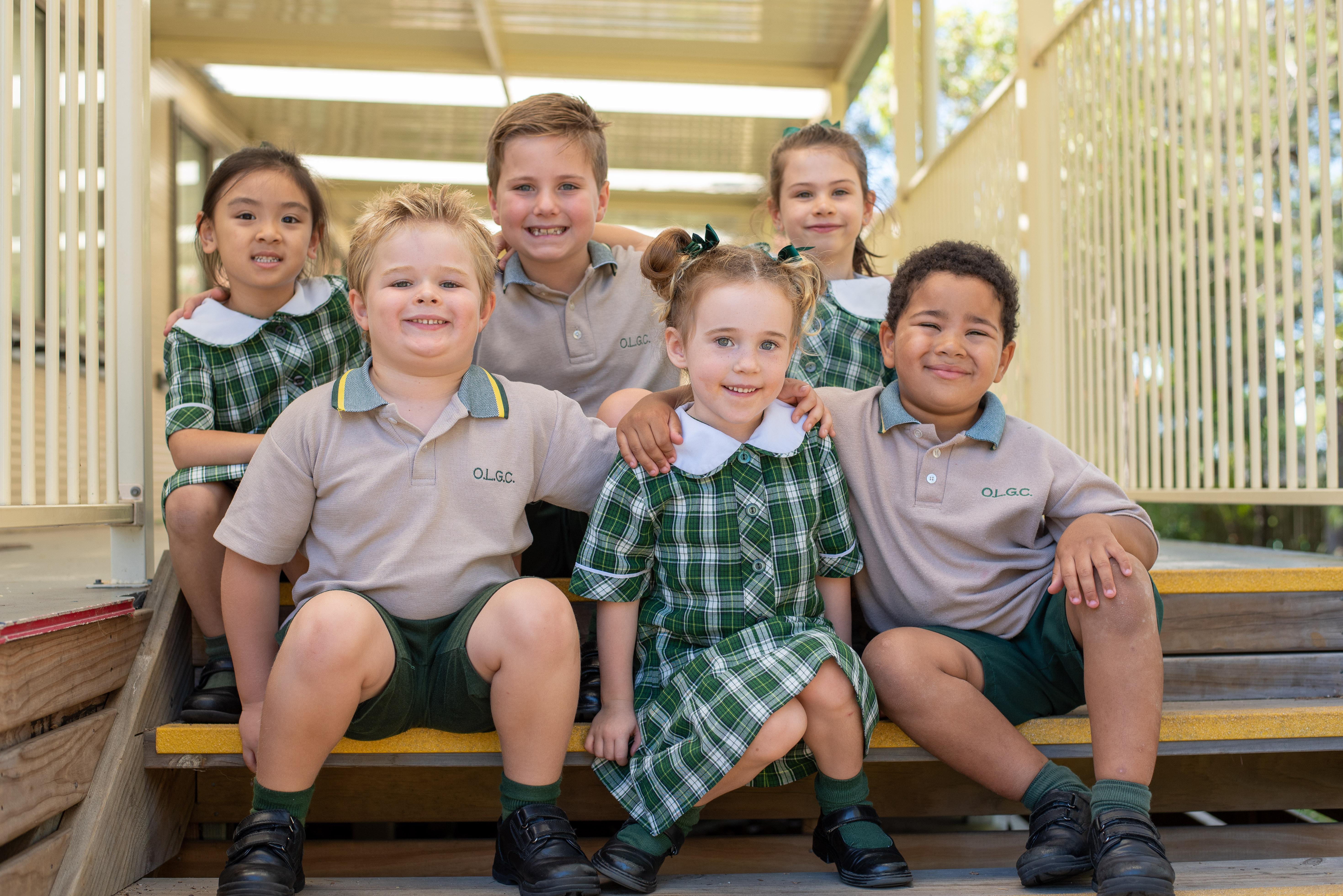 Kindergarten students – Term 1 2018