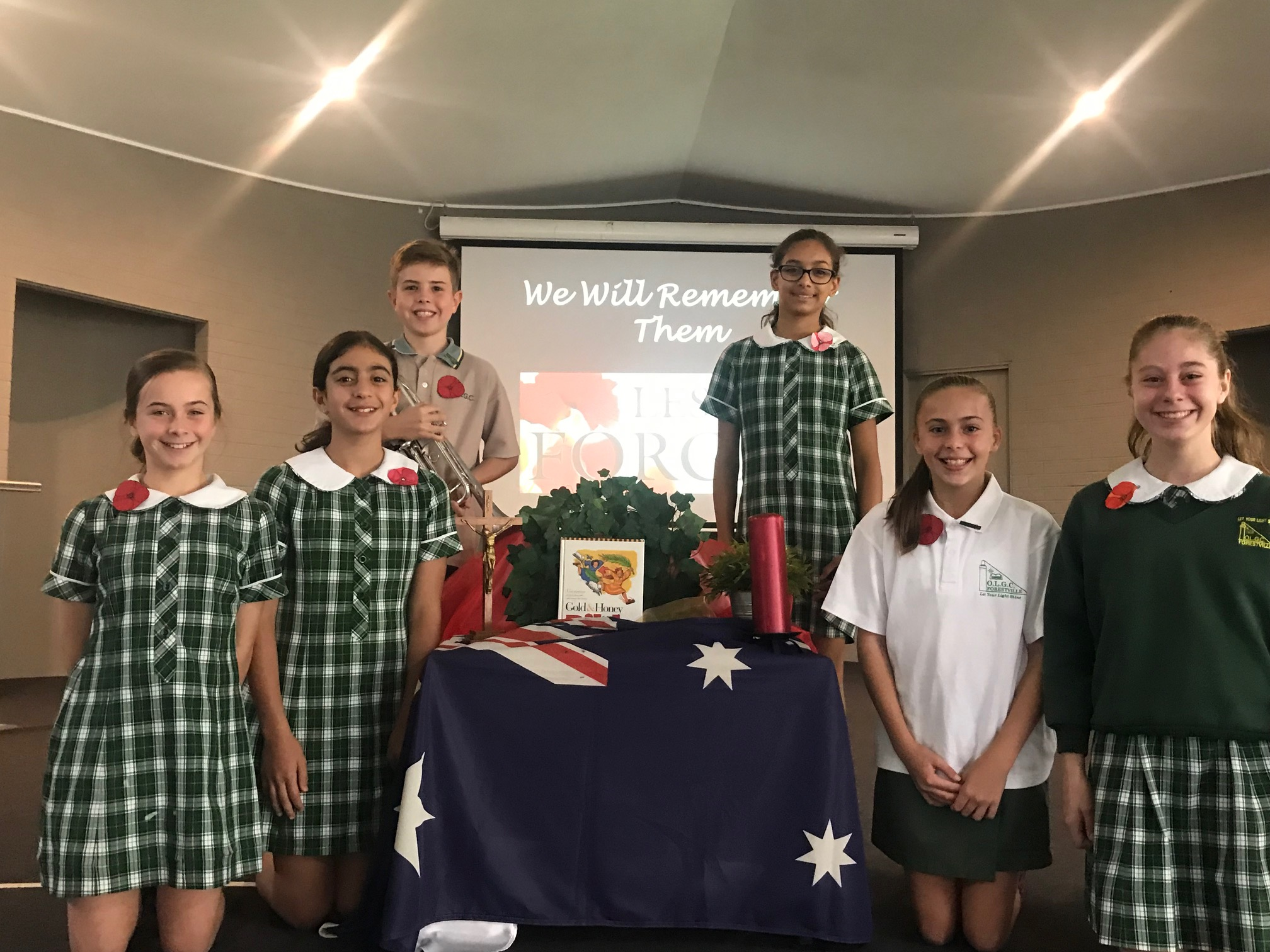 ANZAC Liturgy – April 2019