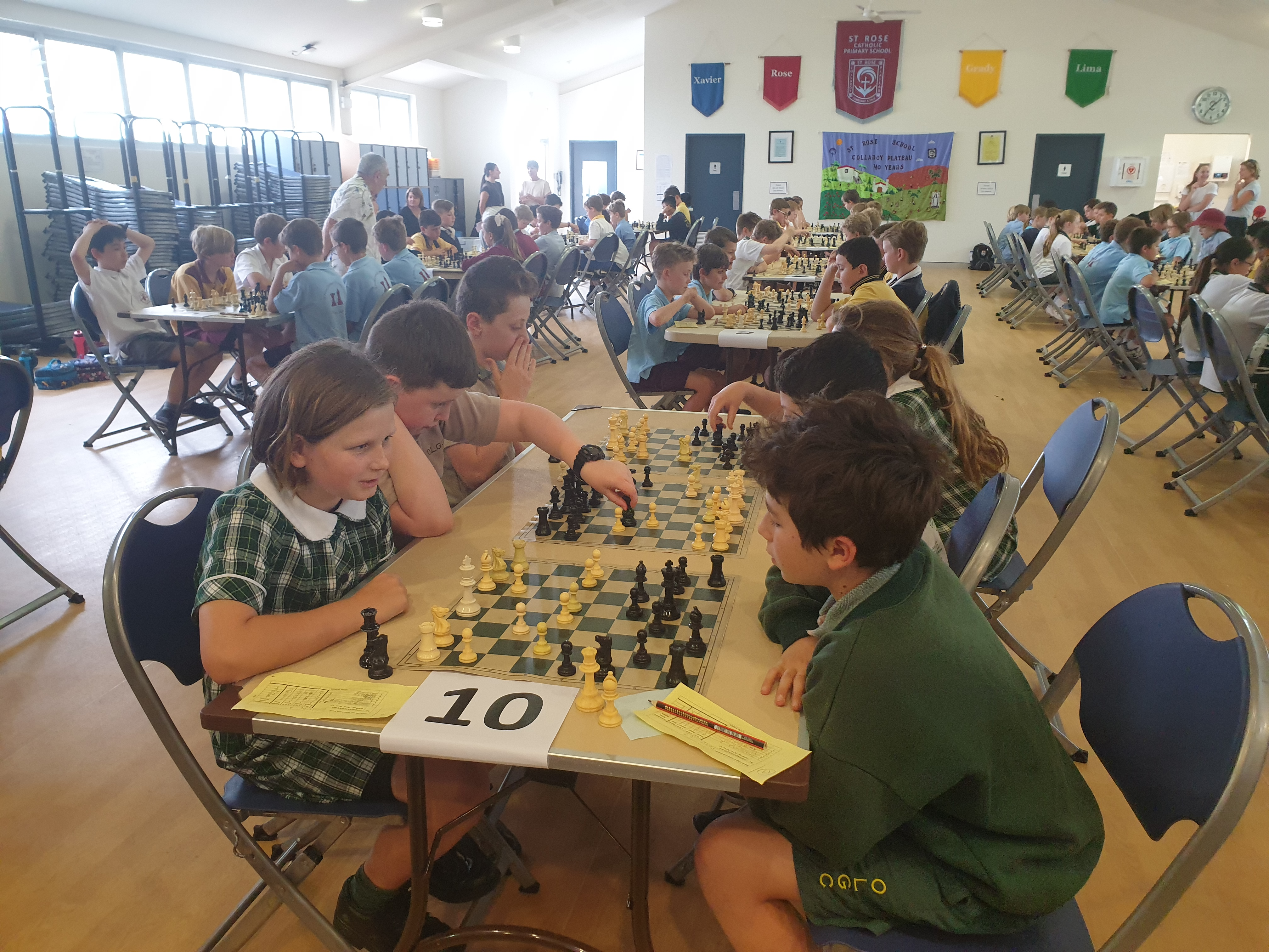 Northern Beaches Cluster Chess Competition – October 2019
