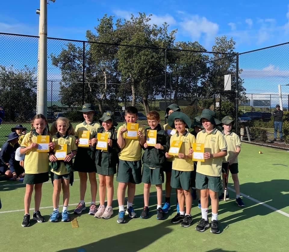 Todd Woodbridge  (Tennis) Cup – OLGC Wins the Metro North Zone Event
